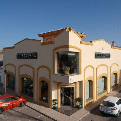 Nuestra tienda La componen 3 plantas de 300m2